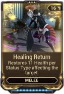 Healing Return