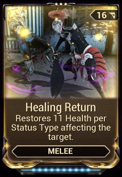 warframe healing return price