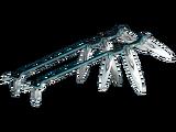 Diseño Hacha de dagas de Zoren dobles