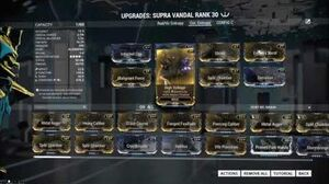 SUPRA VANDAL - All the Bullitos in the World 2 forma - Warframe