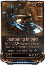 ShatteringImpactMod