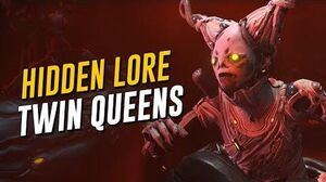 Hidden Lore Origins of The Twin Queens! (Warframe)