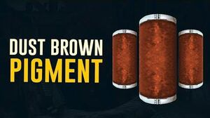 Dust Brown Pigment Farm Dojo Colors (Warframe)