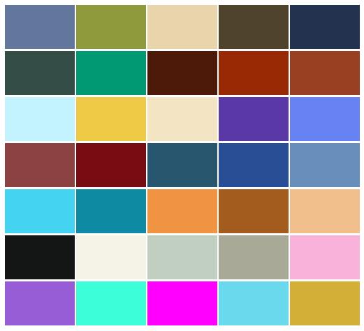 Dojo Pigments Palette