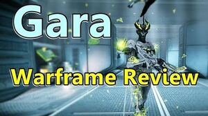 Gara, The Glass Defender (Warframe)