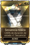 Secuencia tóxica