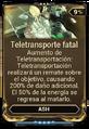 Teletransporte fatal