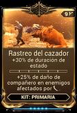 Rastreo del cazador