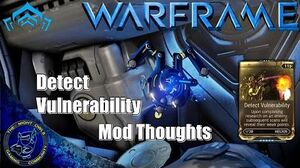 Warframe Helios Detect Vulnerability Syndicate Mod Review (U16.1