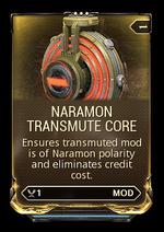 NaramonTransmuteCore