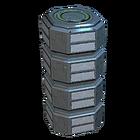 Contenedor de almacenamiento Corpus poco común