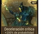Deceleración crítica