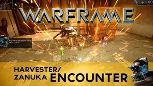 WARFRAME Harvester Encounter!