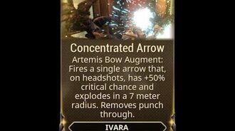 WARFRAME - Ivara Concentrated Arrow