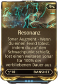 Mod Augment Resonanz