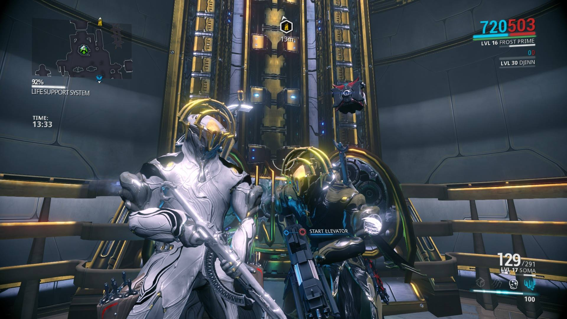 Warframe Frost Prime Image - Two Fro...