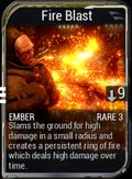 Fire Blast new