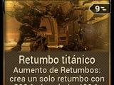 Retumbo titánico