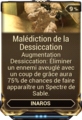 Malédiction de la Dessiccation