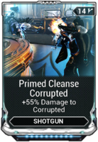 Primed Cleanse Corrupted