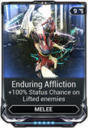 Enduring Affliction