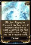 Photon Repeater
