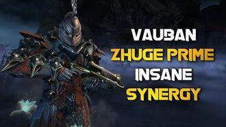 Warframe VAUBAN & ZHUGE PRIME'S DEVASTATING COMBO!