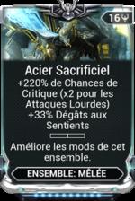 Acier Sacrificiel