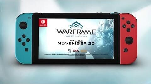 Warframe Coming to Nintendo Switch - November 20