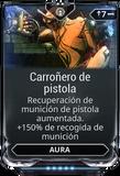 Carroñero de pistola