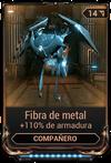 Fibra de metal