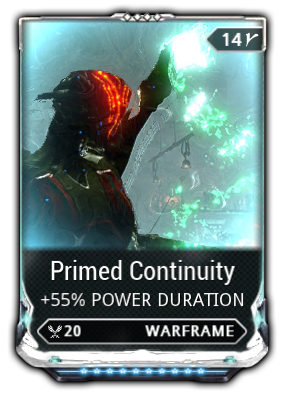 warframe how to get continuity