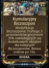 Kumulacyjny Biczoszpon