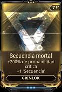 Secuencia mortal