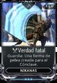 Verdad fatal