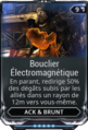 Bouclier Electromagnétique