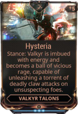 Hysteria (Stance)