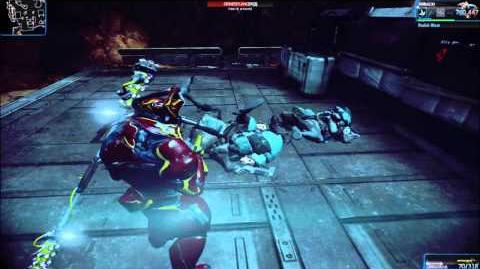 Warframe Rhino's Radial Blast