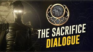 The Sacrifice Cutscenes & Dialogue! Moon Dark (The Warframe Story)