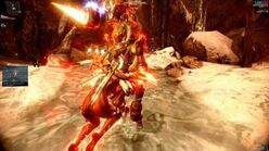 Warframe Grustrag Three Boss Fight Solo