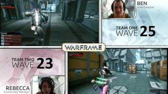 Warframe Devstream 7 - Part 2 - The Defense Challenge