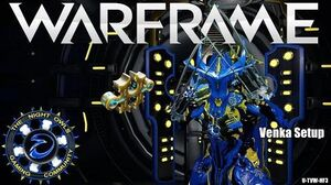 Warframe Updated Venka Setup 1x Forma