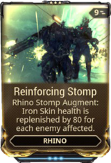 Reinforcing Stomp