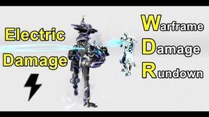 WDR 5 Electricity Damage (Warframe)