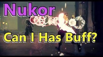 Can I Has Buff The Nukor (Warframe)