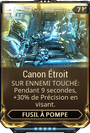 Canon Etroit