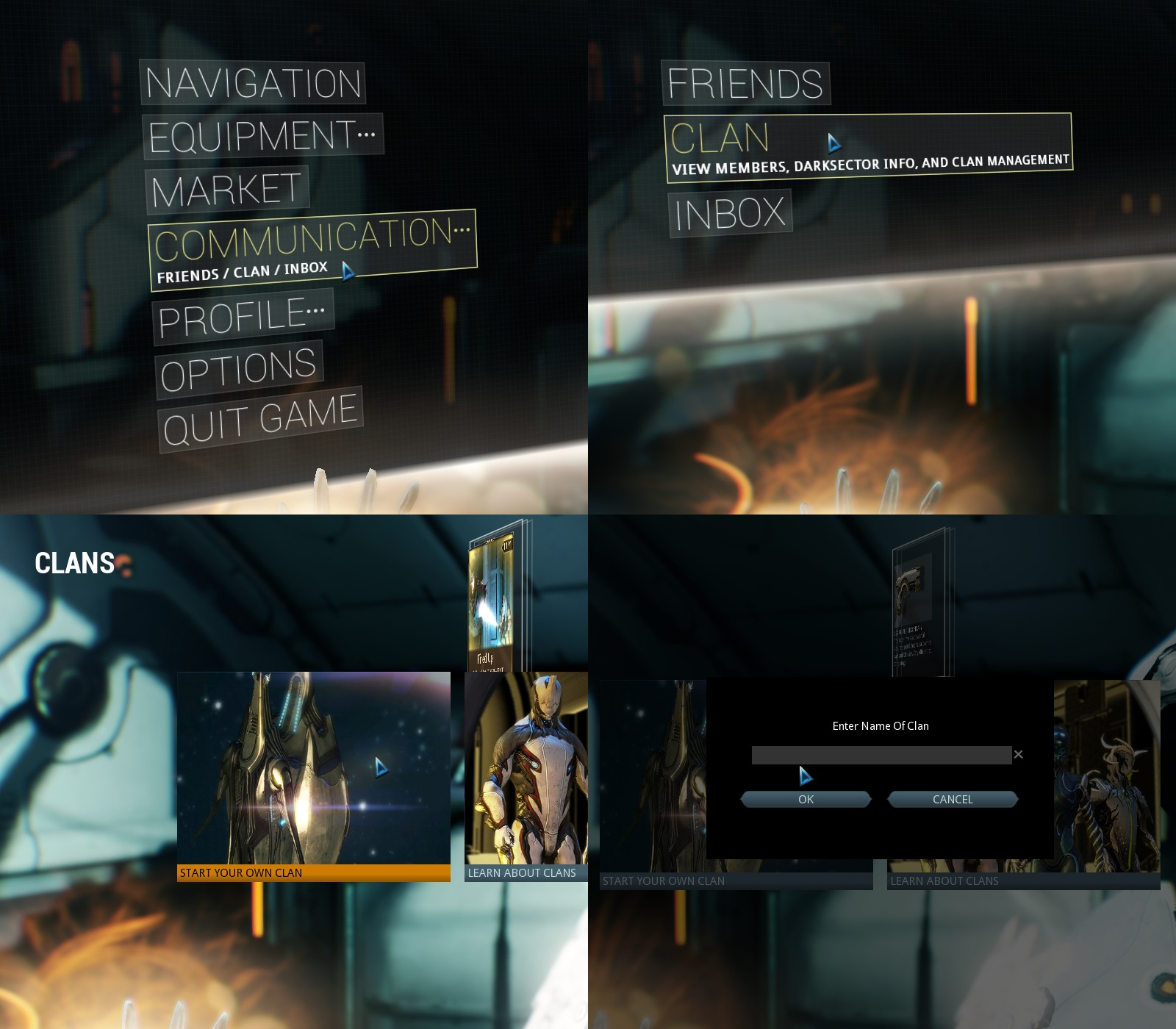 warframe how to change name