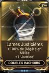 Lames Justicières