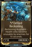 Defiled Reckoning