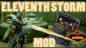 ELEVENTH STORM MOD Silva&Aegis - Warframe Mods GamesWise